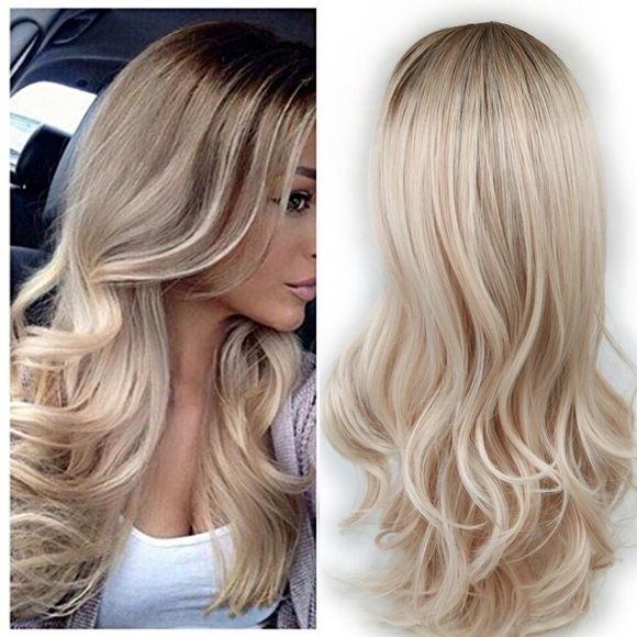 Ombre Brown To Ash Blonde Mixed Blonde Boutique